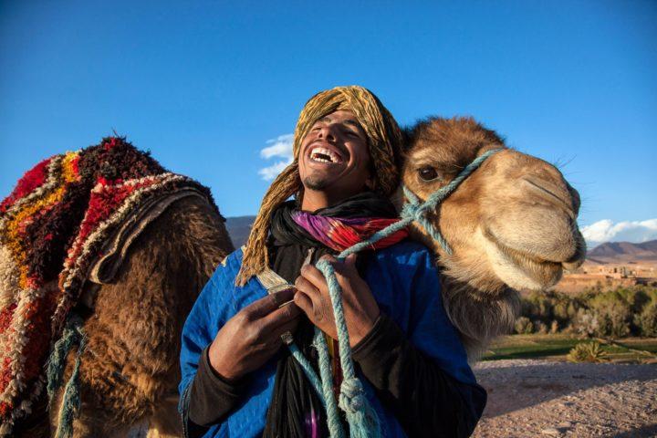 MAROCCO: Taourirt, La risata